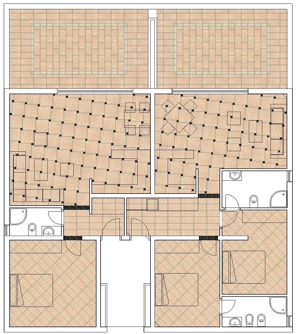 Pavimento Appartamento