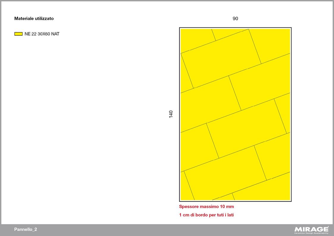 Pannello 2D Con Schema Outline